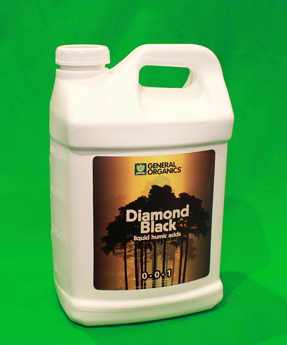 NEW General Organics Diamond Black 2.5 Gal