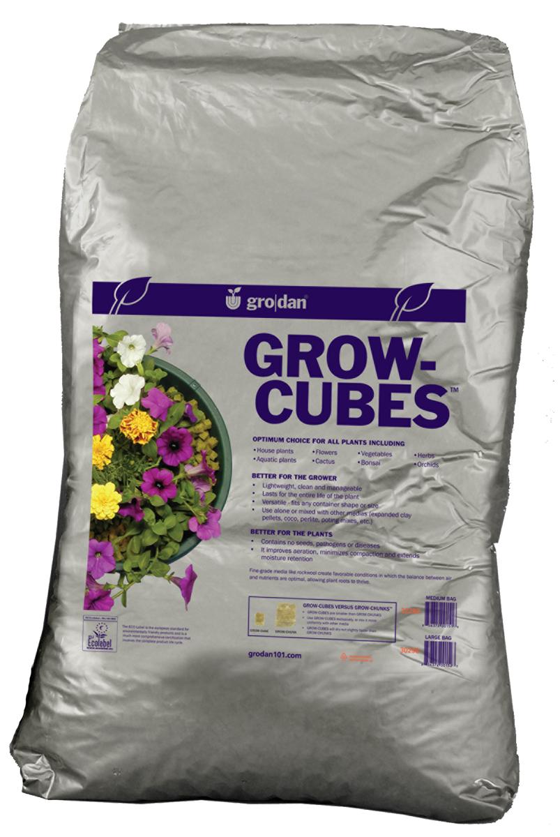 Grodan Grow Cubes 1 Cu Ft Bag Each Rock Wool Fast Root Growth Ebay